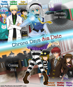 Pacthesis. Chrono Days Promo Poster. Digital Image. Deviantart. Deviantart. Web. 30 Oct 2014.